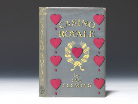 A first edition of the first ever James Bond book. Less than 5000 copies were produced, and scholars believe less than half of those were sold to the public.