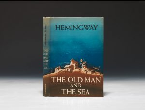 A first edition of Old Man and the Sea goes for just a few thousand dollars because so many copies were printed of this late work. Earlier Hemingway works, with significantly smaller print runs, go into the tens of thousands.