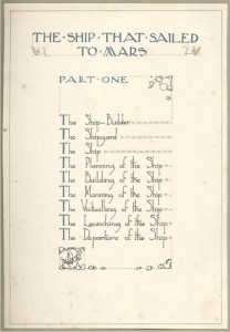 Table of Contents. The story goes that the publishers, George Harrap, were so pleased with the balance between the illustrations and the text that they decided to print the book without any type-setting.
