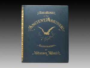 gustave dor atilde copy the rime of the ancient mariner rare books experts early american edition of the dore illustrated rime of the ancient mariner harper