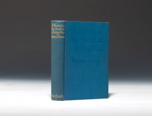 The first edition of Portrait of the Artist as a Young Man