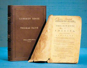 Second edition of Common Sense, published by Bell in late January 1776