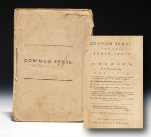 New edition of Common Sense with Paine's additions, published by the Bradfords in mid-February 1776