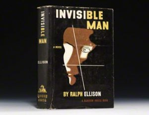 a report on ralph waldo ellisons novel invisible man Ralph ellison and the militants  ralph waldo ellison grew up in tragic and humbling circumstances  was invisible man in 1952.