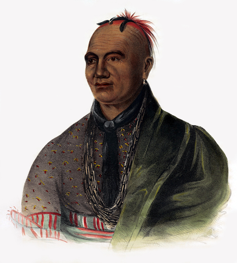 Joseph Brant Mohawk by Charles Bird King