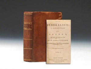 First edition of The Federalist, 1788