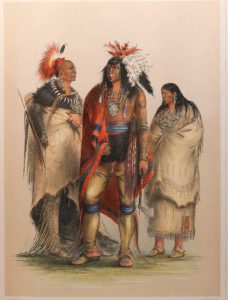 From Catlin's North American Indian Portfolio (1844).