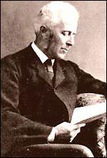 Doctor Joseph Bell, lecturer at the University of Edinburgh and the inspiration for Sherlock Holmes.