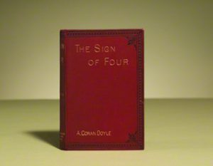 The first edition in book form of The Sign of Four.