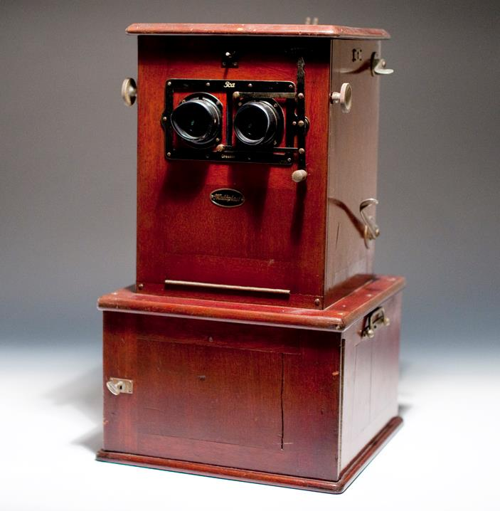 Desktop Stereoscopic Viewer circa 1915.