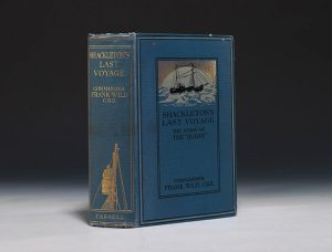 First edition of Frank Wild's Shackleton's Last Voyage.  Cassell (London), 1923.