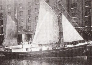 Quest shortly before she set sail, September 1921.