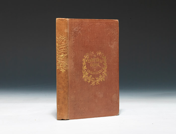 A first edition of A Christmas Carol (1843).