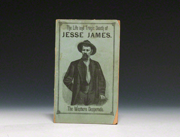 Early biography of Jesse James (1882), the year he was fatally shot by the coward, Robert Ford.