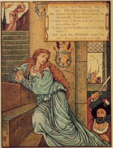 Bluebeard as illustrated by Walter Crane
