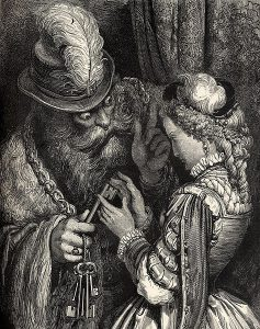 Bluebeard as illustrated by Gustave Doré