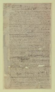 Jefferson draft of the 1775 Declaration, at the Library of Congress (Source)