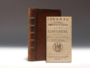 1775 Journal of the Proceedings of Congress