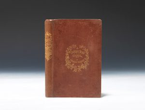 1843 first edition, first issue of Charles Dickens'  A Christmas Carol.  London: Chapman and Hall.