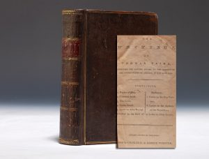 The Writings of Thomas Paine, 1792, containing the first collected American edition of The American Crisis.