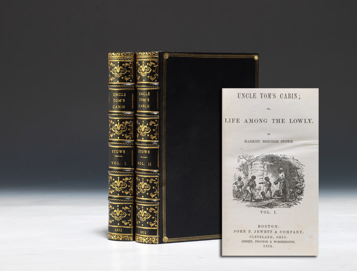 1852 first edition of Uncle Tom's Cabin (BRB 87920)