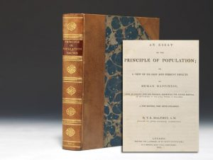 1803 second edition of Malthus' Principle of Population (BRB #85612)