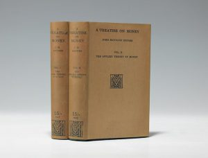 1930 first edition of Keynes' A Treatise on Money (BRB #101258)