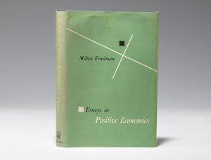 1953 first edition of Friedman's Essays in Positive Economics (BRB #101680)