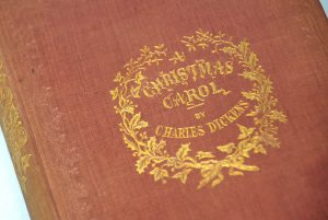 A first edition Christmas Carol (BRB 100883)