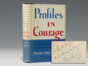 Inscribed first edition of Kennedy's Profiles in Courage (BRB 102038)