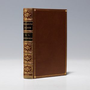 First edition of Treasure Island (BRB 101722)