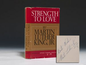 Inscribed first edition of King's Strength to Love (BRB #88406)