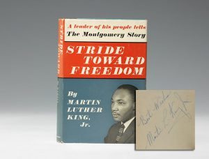 Inscribed first edition of King's Stride Toward Freedom (BRB #101449)