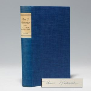 Signed limited first edition of Roosevelt's This I Remember (BRB 102897)