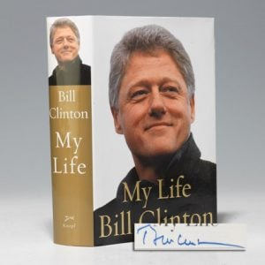 Signed first edition of Bill Clinton's My Life (BRB 102501)