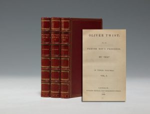 First edition of Oliver Twist (BRB 100865)