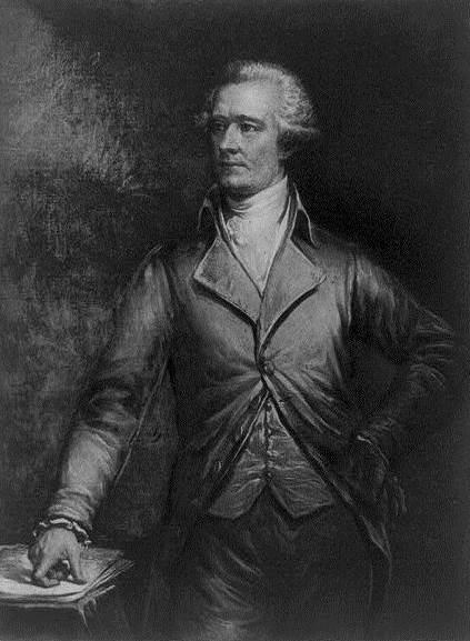 Alexander Hamilton (image courtesy Library of Congress)