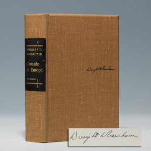 Signed limited first edition of Eisenhower's WWII memoir (BRB 103301)