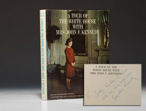 First edition Tour of the White House, signed by Jacqueline Kennedy (BRB 91392)