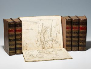 A first edition of Marshall's Life of George Washington, with the atlas of Washington's battles (BRB 103422)