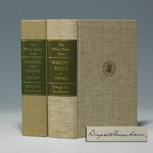 Signed limited first editions of Eisenhower's presidential memoirs (BRB 103312)