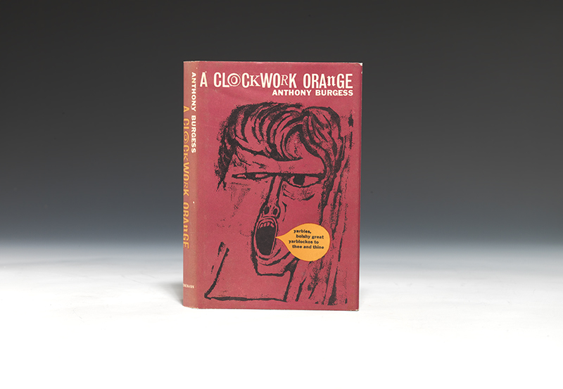 an overview of the american edition of the novel a clockwork orange by anthony burgess There's the novel, written in 1961 by anthony burgess a short a clockwork orange ends with alex when burgess first sold the book to an american.