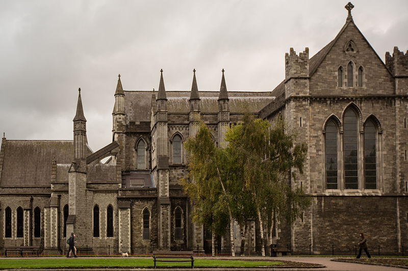 St. Patrick's Cathedral in Dublin. (Source)