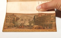 An example bound by the Edwards of Halifax, who popularized fore-edge paintings in the 18th century (BRB 81915)