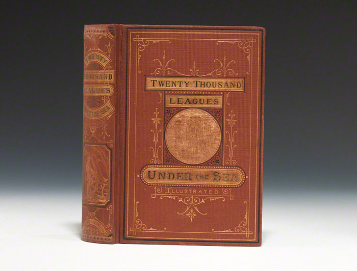 True first American edition, of Twenty Thousand Leagues Under the Sea, 1873 (BRB 80893)