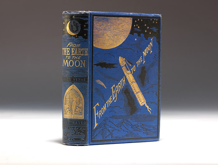 1873 American edition of From Earth to the Moon (BRB 90244)