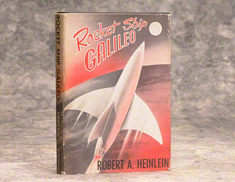 First edition of Rocket Ship Galileo, 1947, by Robert Heinlein (BRB 50112)