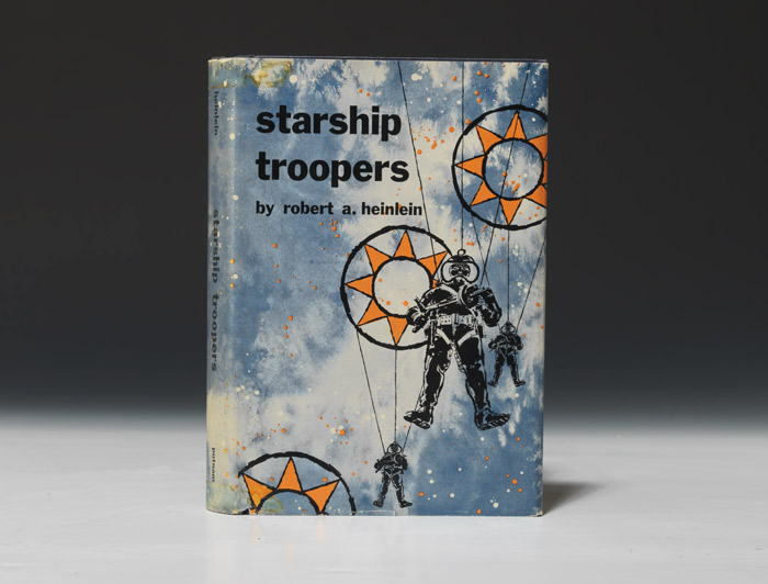 A first edition, 1959, of Starship Troopers by Robert Heinlein (BRB 83973)