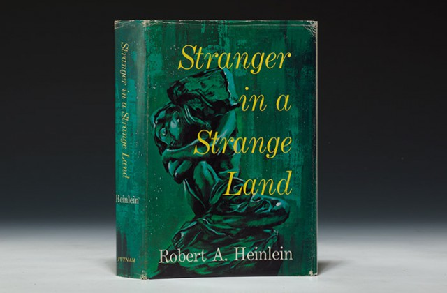A first edition, 1961, of Stranger in a Strange Land by Robert Heinlein (BRB 100475)