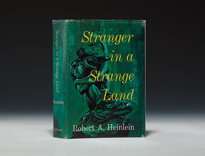 A first edition, 1961, of Stranger in a Strange Land by Robert Heinlein (BRB 100475)